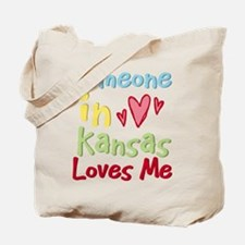 Someone in Kansas Loves Me Tote Bag