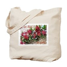 Lei Lehua Hawaiian Valentine Tote Bag