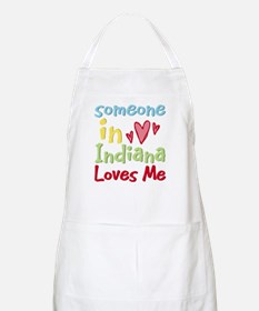 Someone in Indiana Loves Me BBQ Apron
