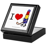 I heart Lipstick Tubes Keepsake Box