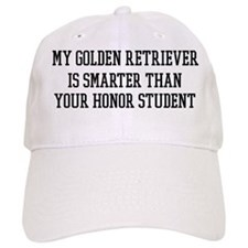 Smart My Golden Retriever Baseball Cap