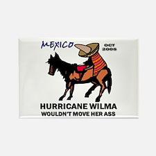 Slow Ass Hurricane Rectangle Magnet