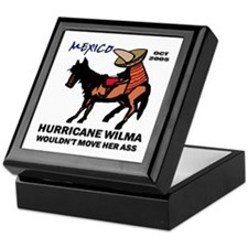 Slow Ass Hurricane Keepsake Box
