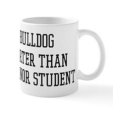Smart My Bulldog Mug