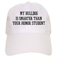 Smart My Bulldog Baseball Cap