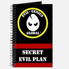 Evil-Genius Global Plan Book (Journal)