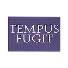 Tempus Fugit Rectangle Magnet