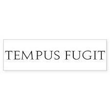 Tempus Fugit Bumper Bumper Sticker