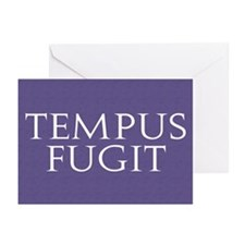 Tempus Fugit Greeting Cards (Pk of 10)