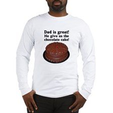 CHOCOLATE CAKE Long Sleeve T-Shirt
