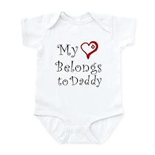 Heart Belongs to Daddy Onesie