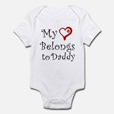 Heart Belongs to Daddy Onesie