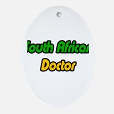 """""""South African Doctor"""" Oval Ornament"""