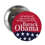 Best Wishes President Obama Button