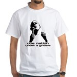 OBAMA - One Nation Under a Groove White T-Shirt