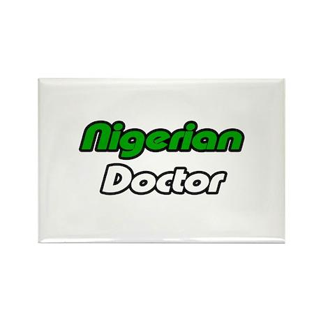 """Nigerian Doctor"" Rectangle Magnet (100 pack)"