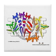 Ghetto Music - Tile Coaster