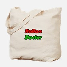 """Italian Doctor"" Tote Bag"