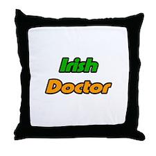 """Irish Doctor"" Throw Pillow"