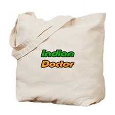 """Indian Doctor"" Tote Bag"
