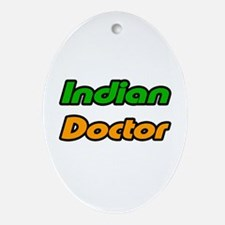 """""""Indian Doctor"""" Oval Ornament"""