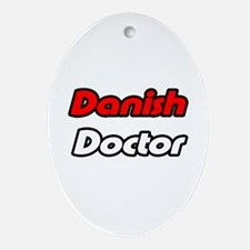 """Danish Doctor"" Oval Ornament"