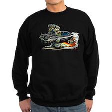 Dodge Challenger Black Car Sweatshirt