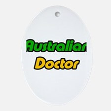 """Australian Doctor"" Oval Ornament"