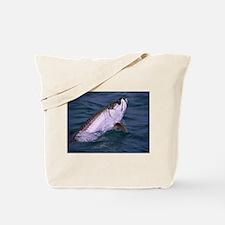 Funny Tarpon fishing Tote Bag