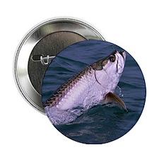 "Cute Saltwater fishing 2.25"" Button"