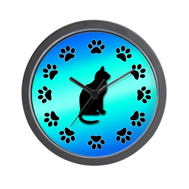Cat clocks - Carl buddig
