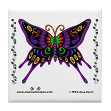 Butterfly - Tile Coaster