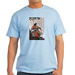 Japanese Samurai Warrior Masanao Light T-Shirt