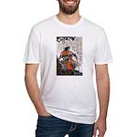 Japanese Samurai Warrior Masanao Fitted T-Shirt