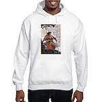 Japanese Samurai Warrior Masanao Hooded Sweatshirt