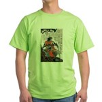 Japanese Samurai Warrior Masanao Green T-Shirt