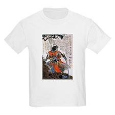 Japanese Samurai Warrior Masanao (Front) T-Shirt