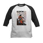 Japanese Samurai Warrior Masanao Kids Baseball Jer