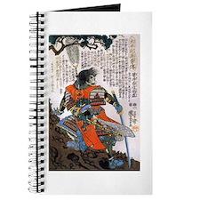 Japanese Samurai Warrior Masanao Journal
