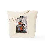 Japanese Samurai Warrior Masanao Tote Bag