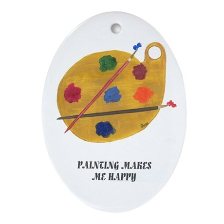 THE ARTIST IN ME Oval Ornament