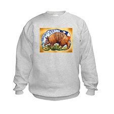 Armadillo Texas Howdy Sweatshirt