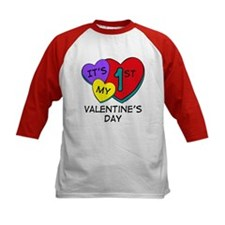 1st Valentine's Day Hearts Tee