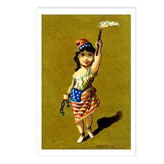 19th C. American Pride Postcards (Package of 8)