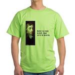 """Milton """"Better To Reign"""" Green T-Shirt"""