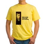 "Milton ""Better To Reign"" Yellow T-Shirt"