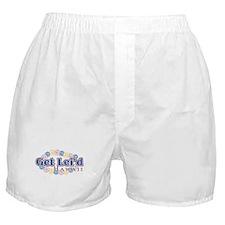 Get Leid Hawaii Boxer Shorts