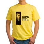 "Milton ""Childhood"" Yellow T-Shirt"
