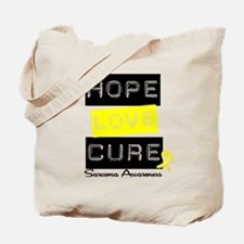 Sarcoma HopeLoveCure Tote Bag