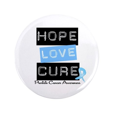 """Prostate Cancer Hope 3.5"""" Button"""